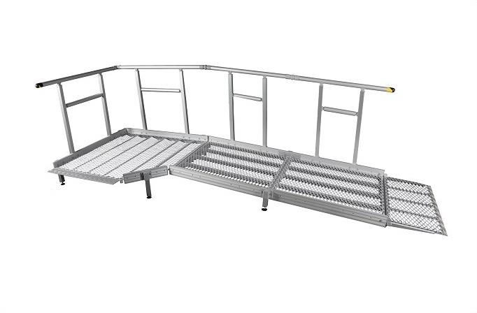 1300mm breite Systeme mit Geländer