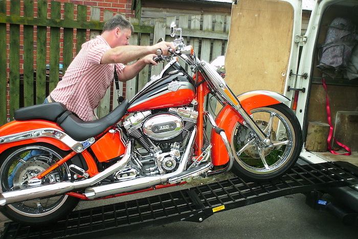 Motorradrampen