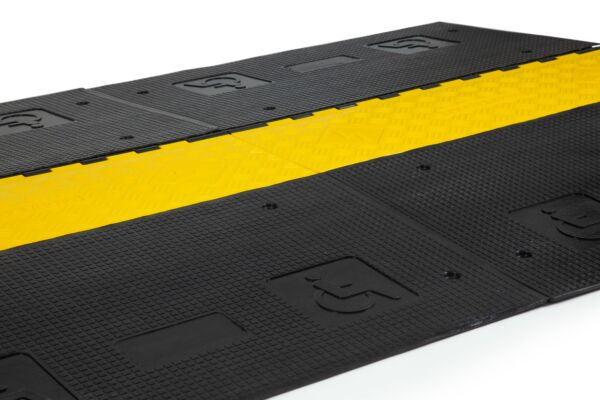 DDA high visibility cable protector ramp