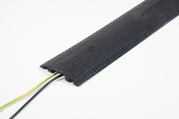 Black cable cover