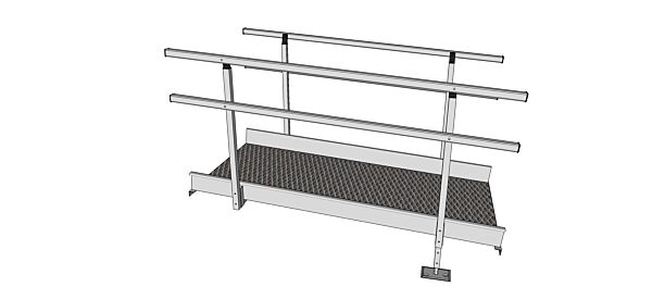 1900mm length modular ramp section