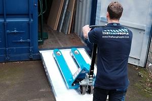 portable pallete truck ramps